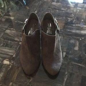 Aerosole Brown Suede Boots